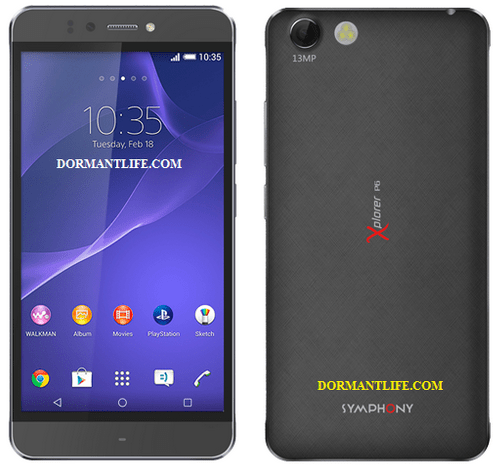 Symphony Xplorer P6 : Android Phone Specifications & Price in Bangladesh