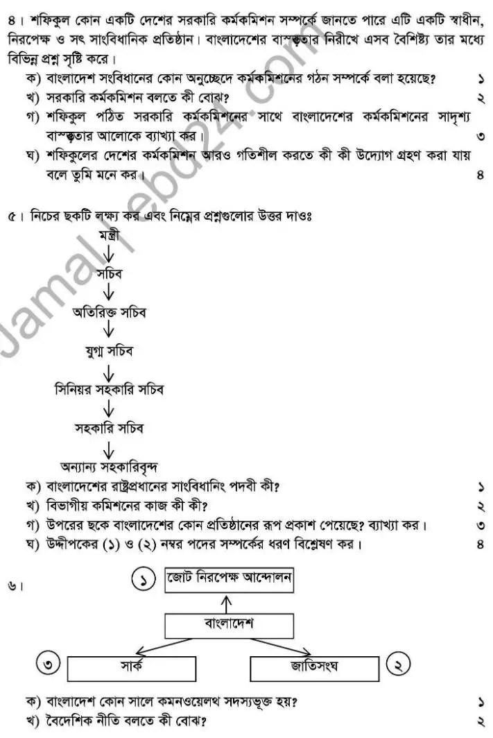 Civics-2nd Exam 2014 (2)