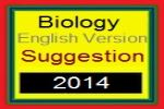 Biology English Version Suggestion and Question Patterns of HSC Examination 2014
