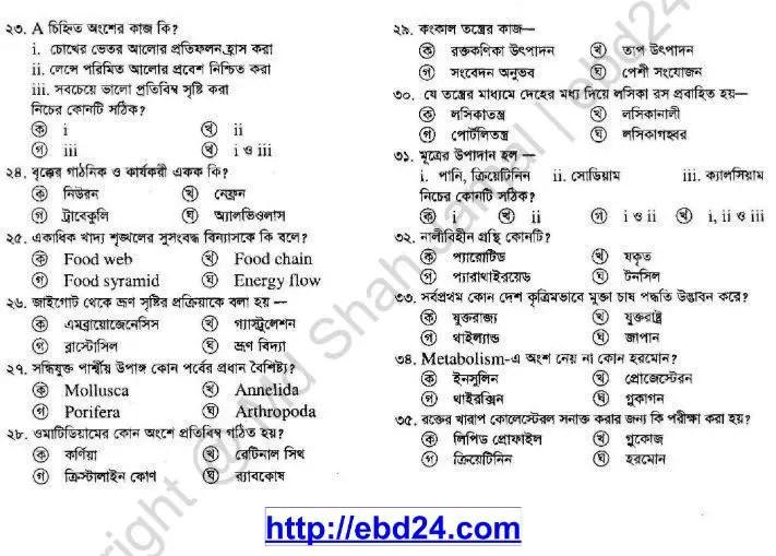Biology Suggestion Hsc 2014 (4)