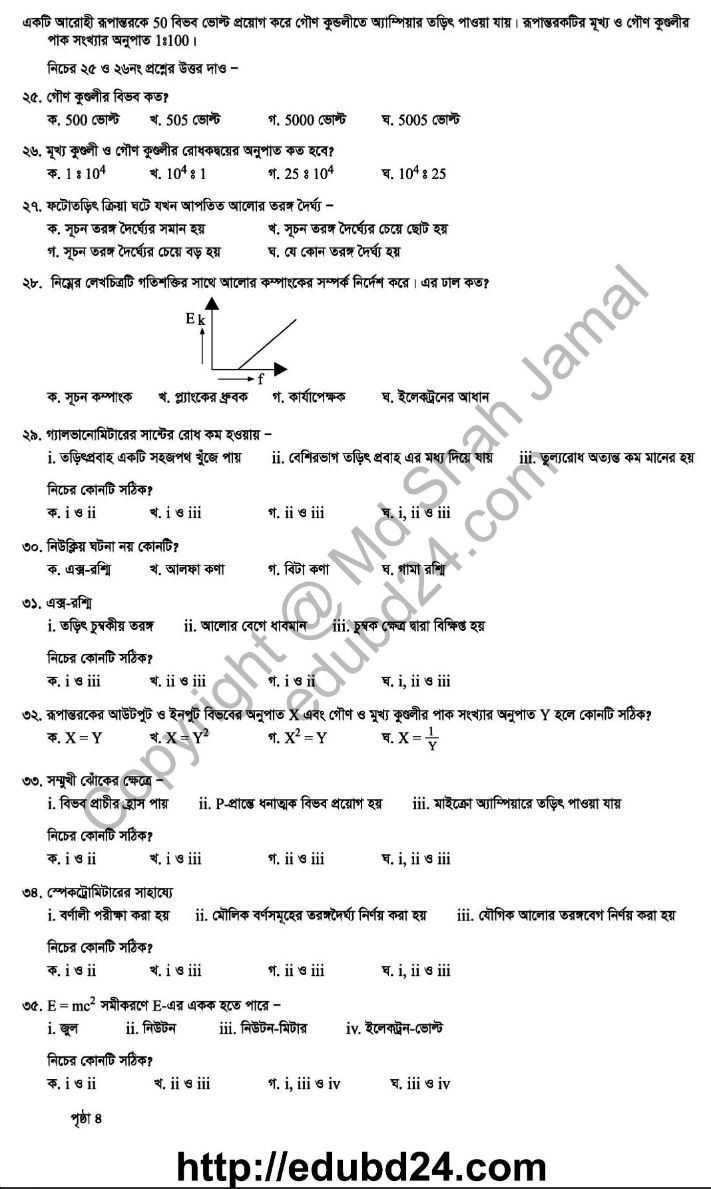 Physic 2nd Paper (6)