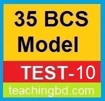 35 BCS Model Test-10