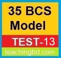 35 BCS Model Test-13