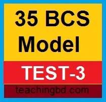 35 BCS Model Test-3