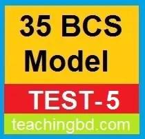 35 BCS Model Test-5
