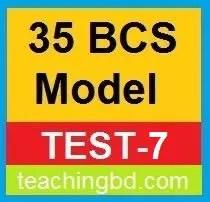 35 BCS Model Test-7