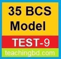 35 BCS Model Test-9
