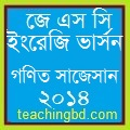 Suggestion and Question Patterns of JSC Examination 2014 3