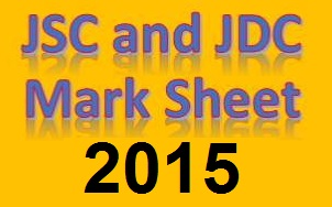 JSC and JDC Mark Sheet 2015 7