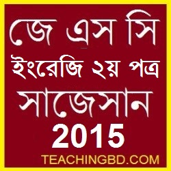 English 2nd Paper Suggestion and Question Patterns of JSC Examination 2015
