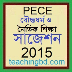 Boddhodhormo and moral Education Suggestion and Question Patterns of PEC Examination 2015