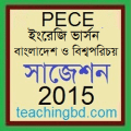 EV Bangladesh and Global Studies Suggestion and Question Patterns of PEC Examination 2015
