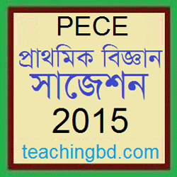 Elementary Science Suggestion and Question Patterns of PEC Examination 2015-6 1