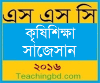 Agriculture Suggestion and Question Patterns of SSC Examination 2016