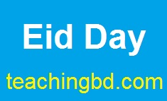 Write A Paragraph: Eid Day