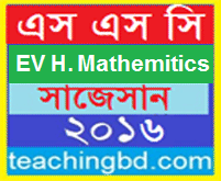 EV Higher Mathematics Suggestion and Question Patterns of SSC Examination 2016