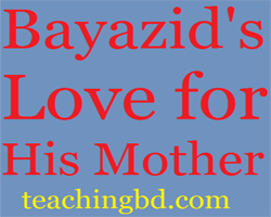 Story: Bayazid's Love for His Mother 4