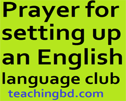 PrayerforsettingupanEnglish