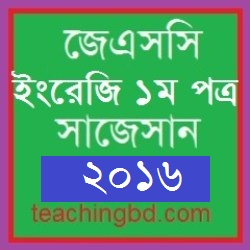English 1 Suggestion and Question Patterns of JSC Examination 2016