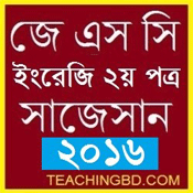 JSC English 2nd Paper Suggestion and Question Patterns of 2016-3 1