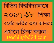 Universities Admission Information Bangladesh 2017-18 9