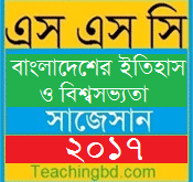 History of Bangladesh and World Civilization Suggestion and Question Patterns of SSC Examination 2017-10