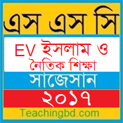 EV Islam and moral Education Suggestion and Question Patterns of SSC Examination 2017