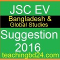 EV Bangladesh and Bisho Porichoy Suggestion and Question Patterns of JSC Examination 2016