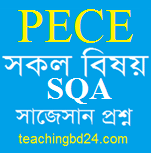 PECE All subject short questions answer suggestion 2018