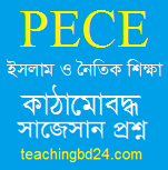 PECE Islam and Moral Education Structured questions and answer suggestion 2020
