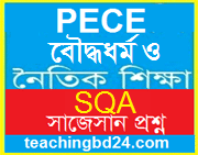 PECE Buddist Religion and Moral Education short questions answer Suggestion 2018