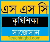 Agriculture Suggestion and Question Patterns of SSC Examination 2019 1