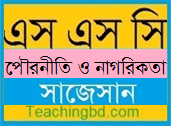 Civics and Good CitizenshipSuggestion and Question Patterns of SSC Examination 2019
