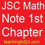 JSC Math Note 1st Chapter patterns
