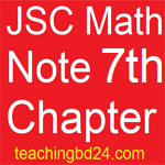 JSC Math Note2 7th Chapter Set
