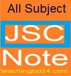 All Subject Junior School Certificate Note 1