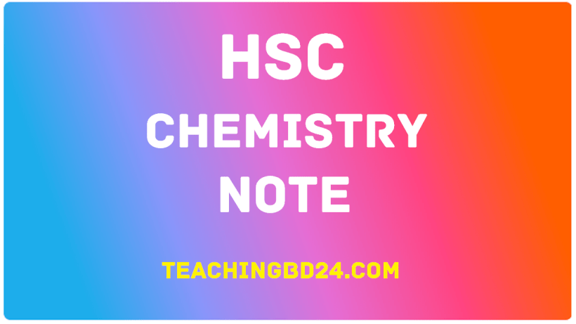 HSC Chemistry Note 1