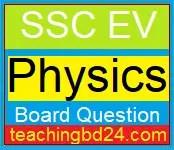 SSC EV Physics Board Question all Board 2018 2