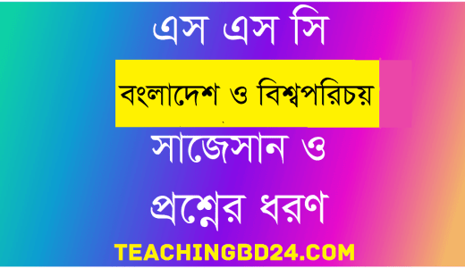 SSC Bangladesh and Global Studies Suggestion and Question Patterns 2020-4 19