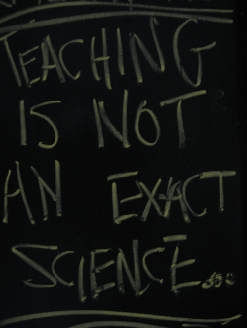 Not an exact science.. Creative commons photo, from here.