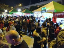 Food at the Taichung Lantern Festival
