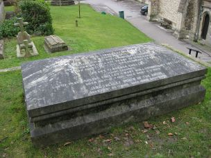 MARY SHELLEY'S GRAVE