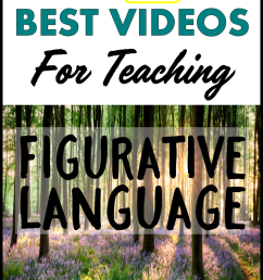 5 BEST Videos for Teaching Figurative Language - Teaching ELA with Joy [ 1152 x 768 Pixel ]