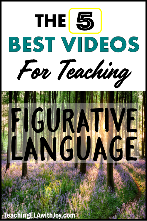 small resolution of 5 BEST Videos for Teaching Figurative Language - Teaching ELA with Joy