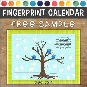 Fingerprint Calendar SAMPLE Cover