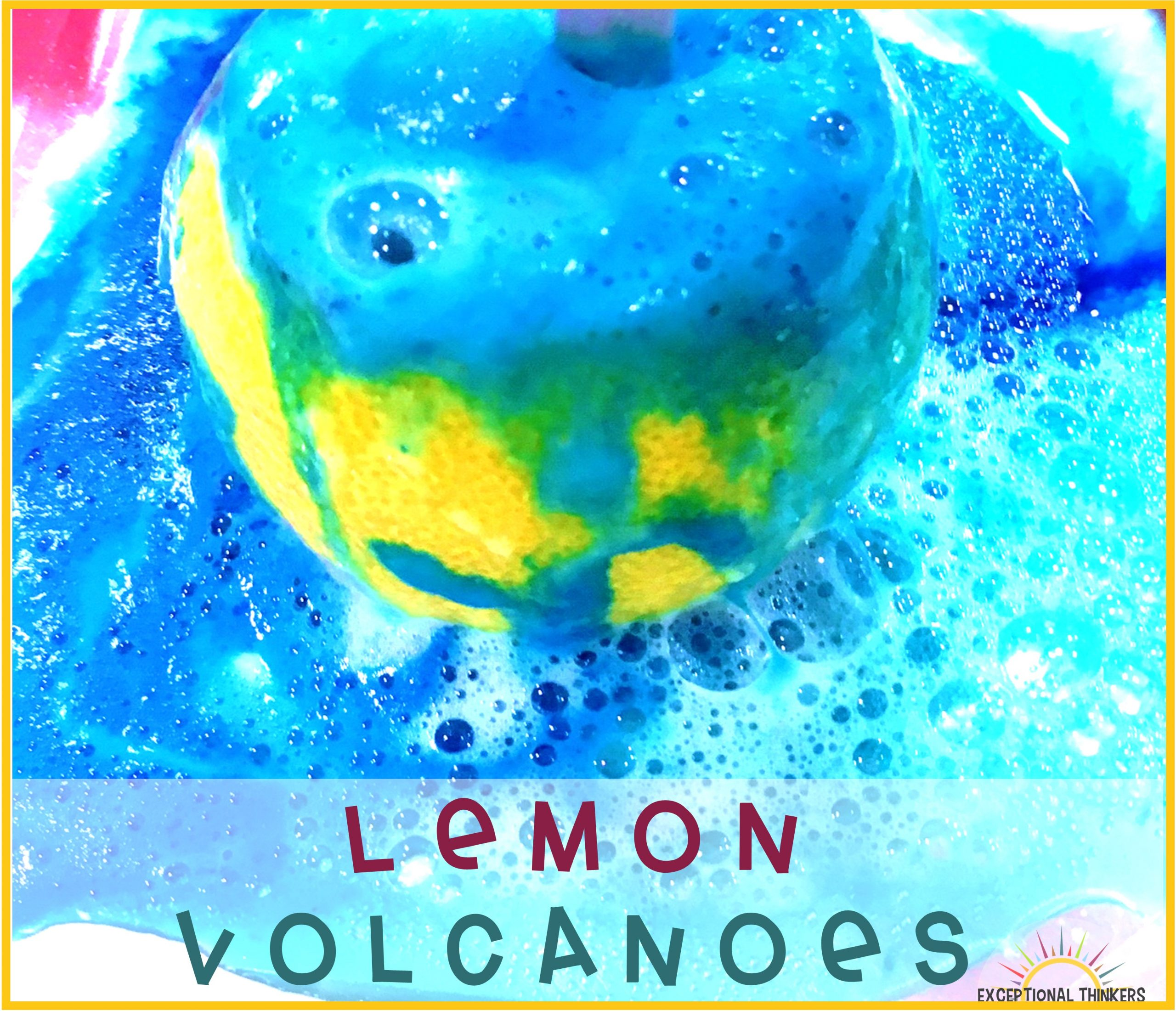 How to Make a Lemon Volcano