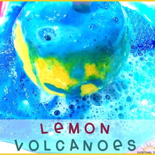 How to Make a Lemon Volcano