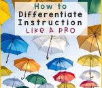 Colorful Umbrellas with title How to Differentiate Like a Pro