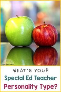 Teacher Personality Quiz