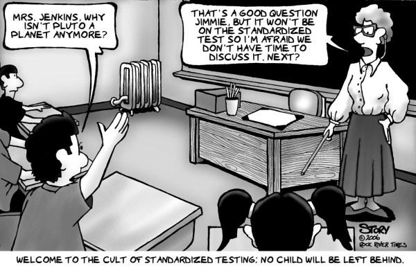 Problem With Standardized Testing - Teaching